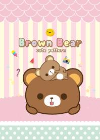 Brown Bear Sweet Green
