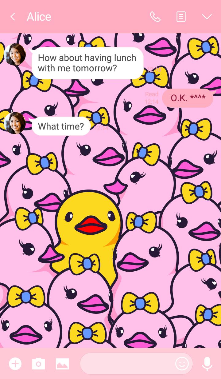 Lost duck
