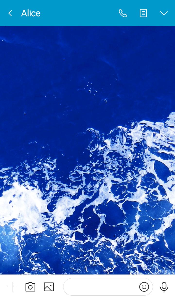 Deep blue sea Wave19 from Japan