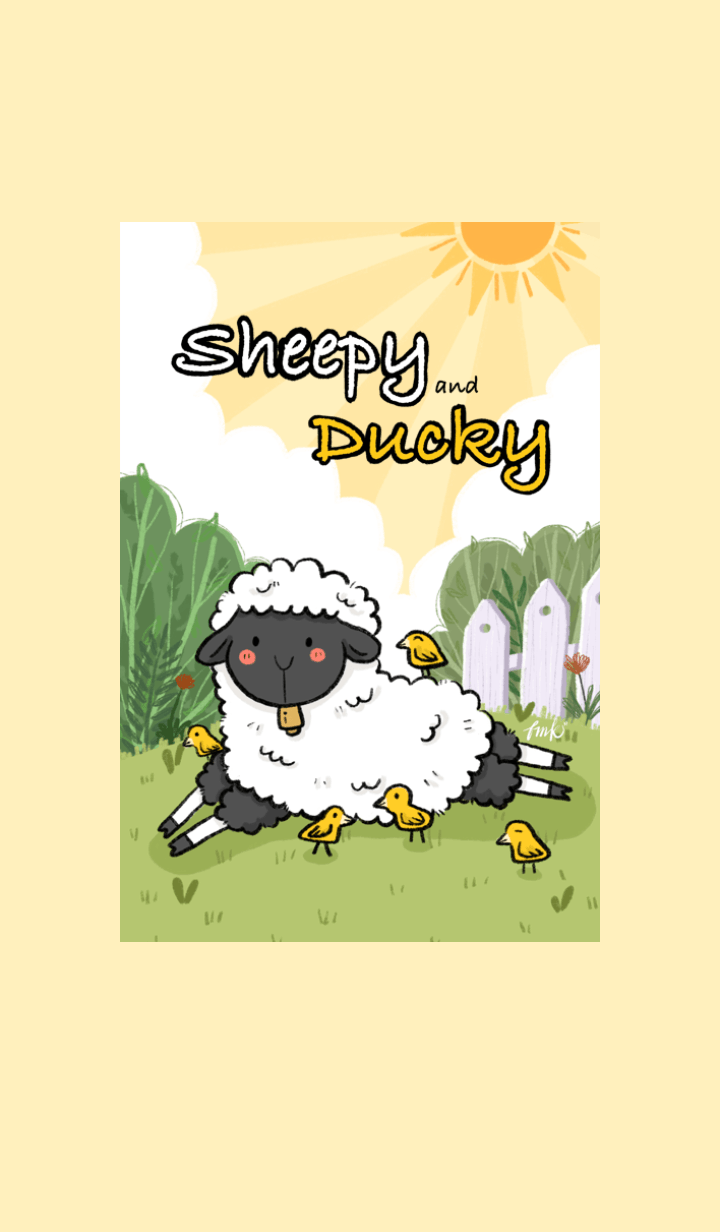 Sheepy and Ducky