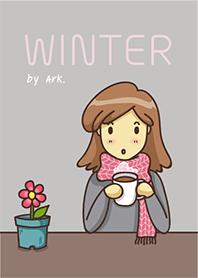 Winter Girl Theme