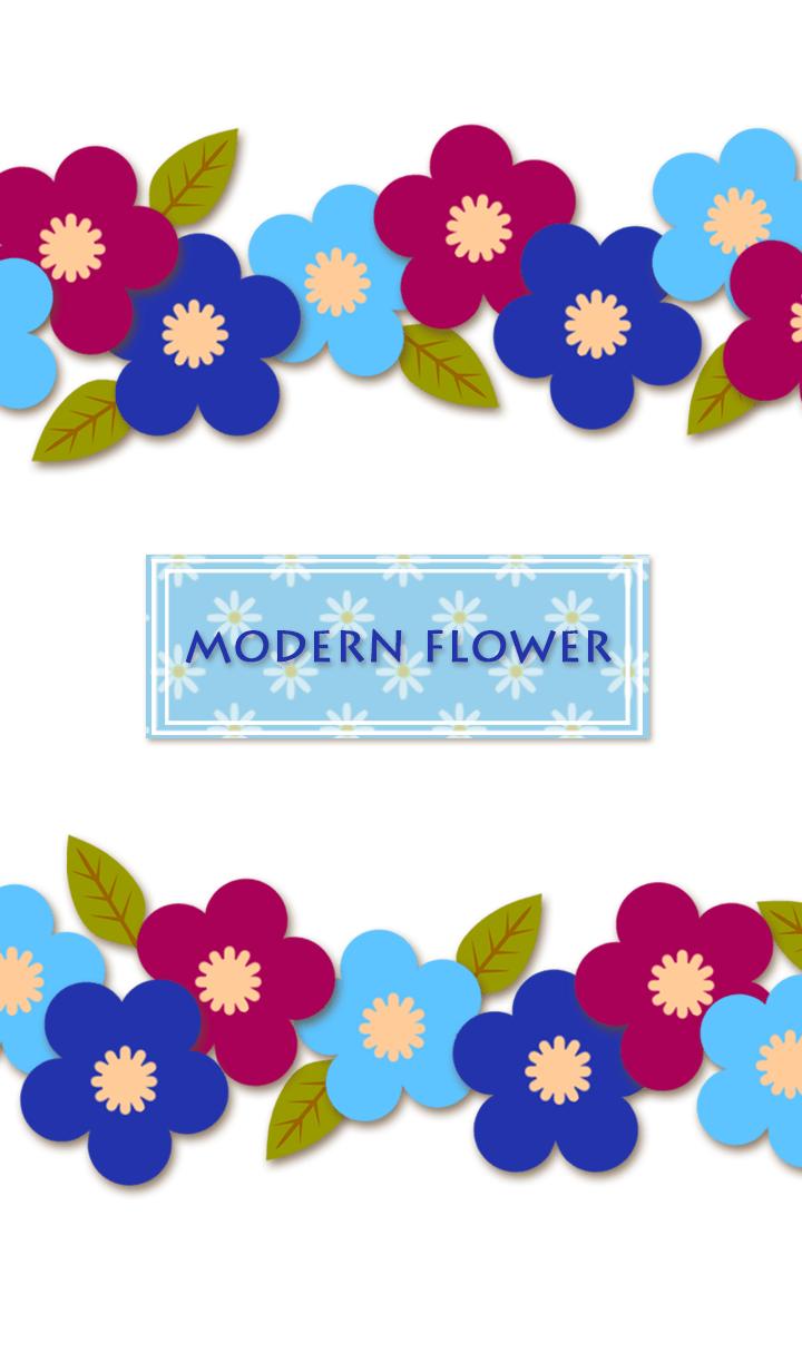 MODERN FLOWER 17*