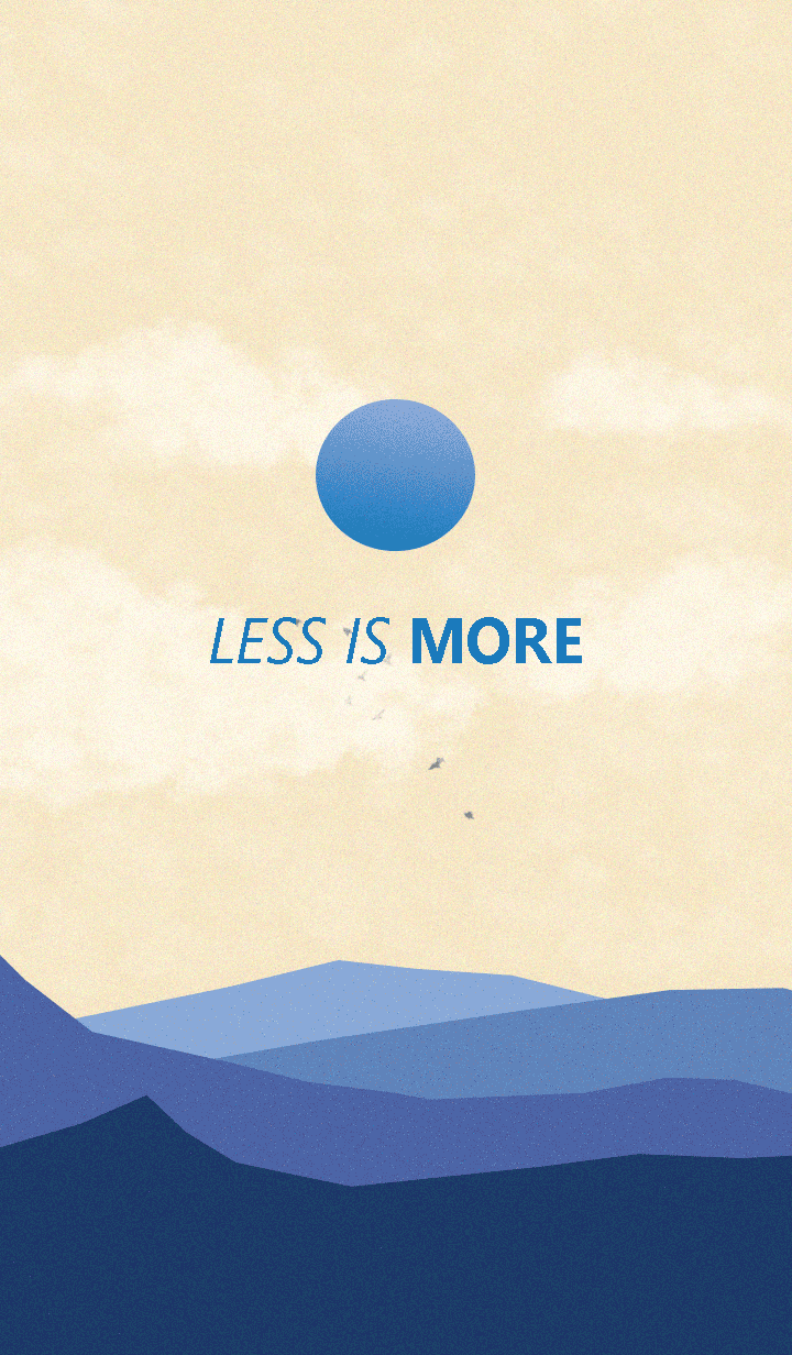 Less is more - #18 Nature