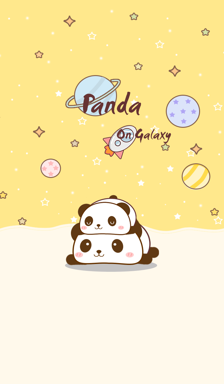 Pan Panda on galaxy