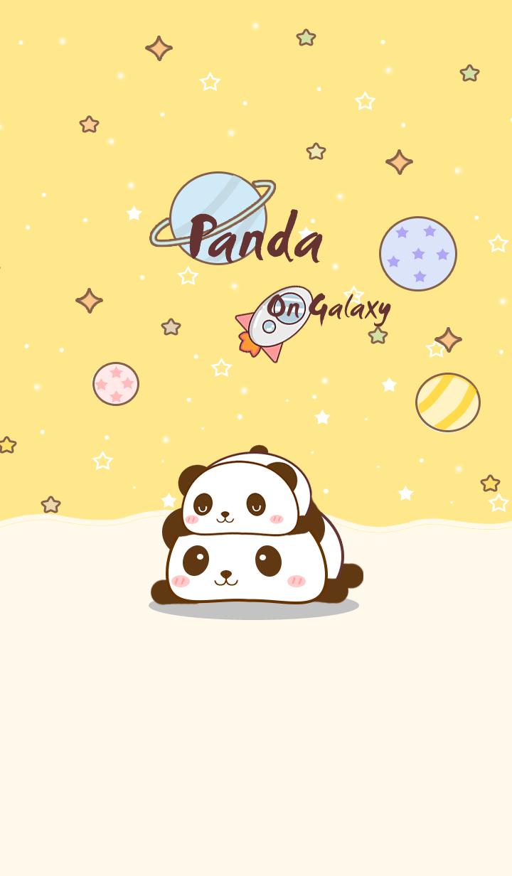Pan Panda on galaxy