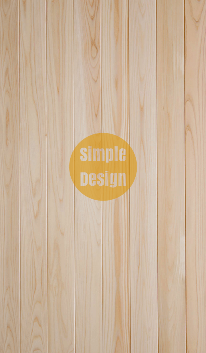 Wood Simple Design Orange ver.