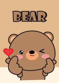 I Love So Cute Bear Theme