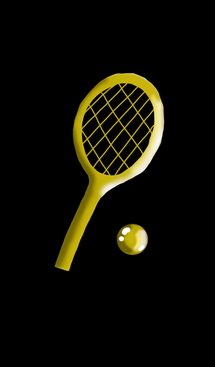 Tennis Champion.Gold-B1