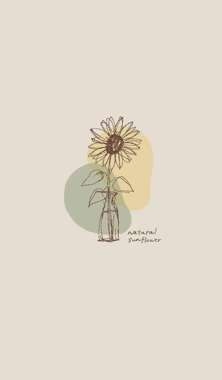 Natural sunflower