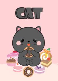 Sweet Black Cat Theme