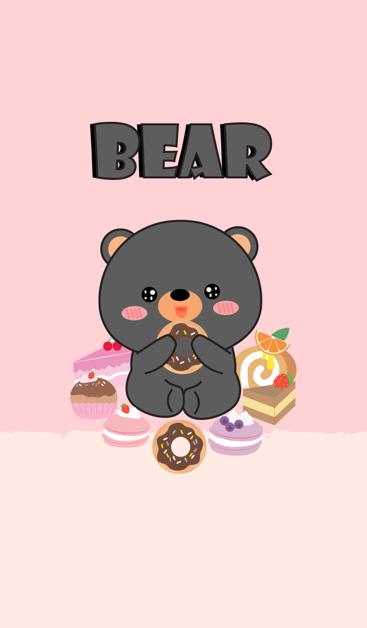 Sweet Black Bear Theme