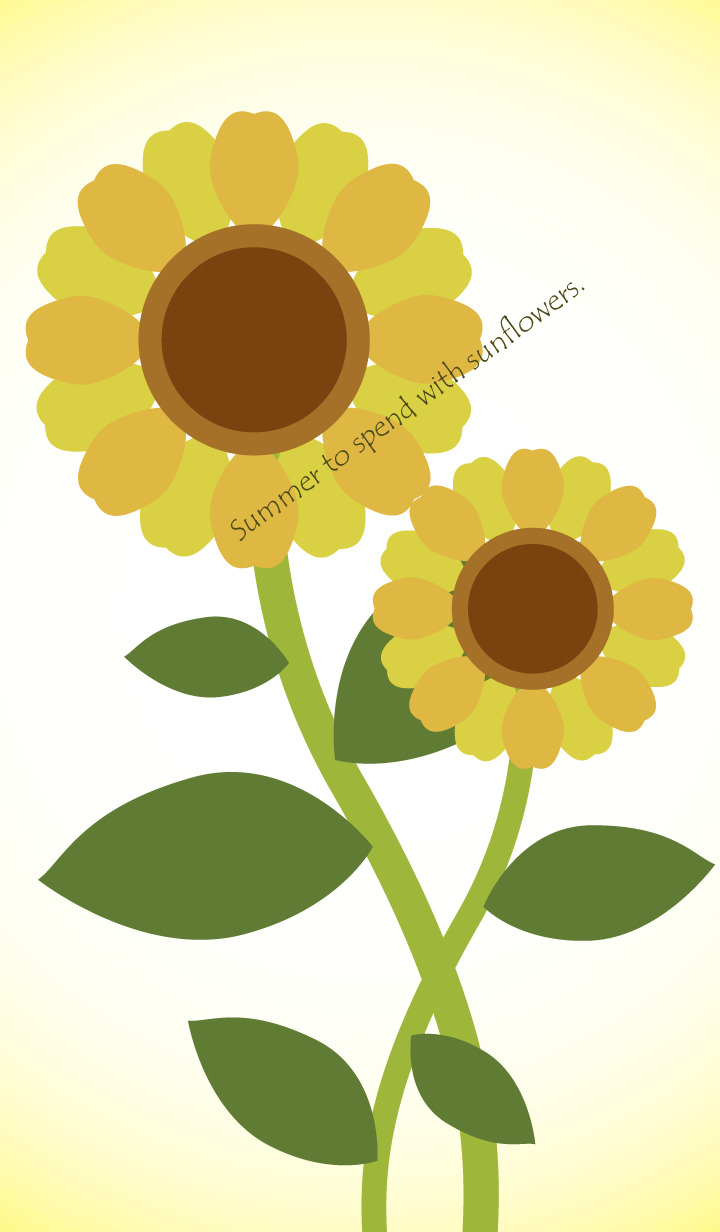Summer to spend with sunflowers.Vol.1