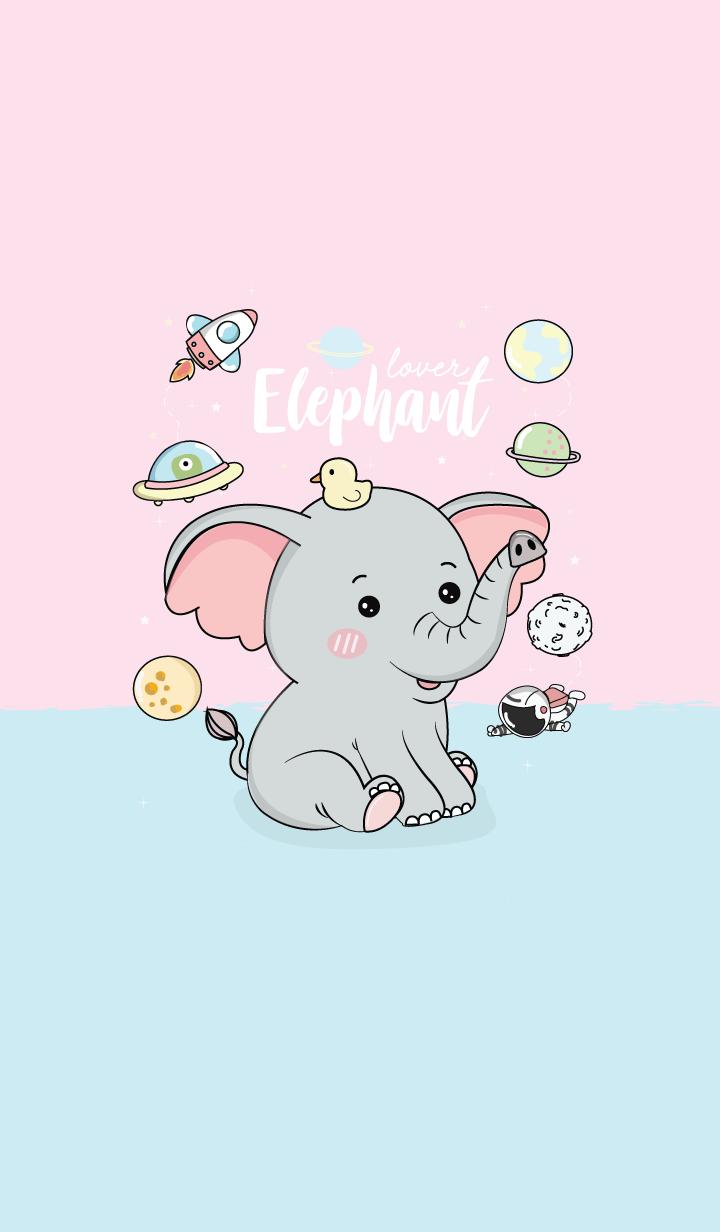 Elephant cute.