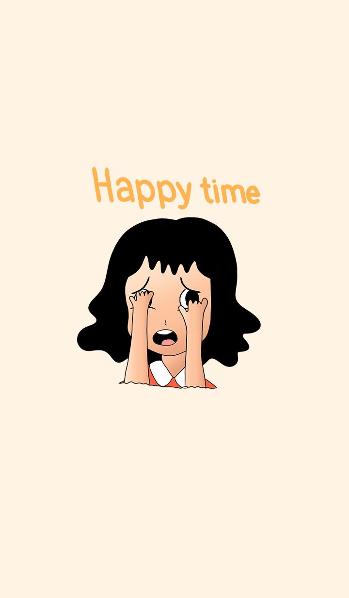 Always happy, sour orange