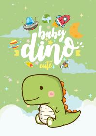Baby Dinosaur Green