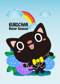 Kurochan with You in Rainday world_1