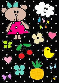 Dot x Lilo and happy rain