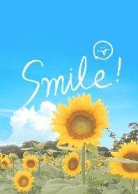 Smile sunflower feeling from JAPAN