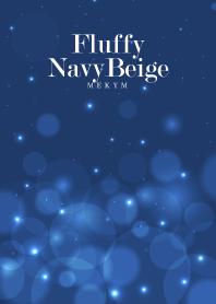 Fluffy Navy Beige.