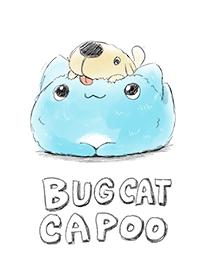 貓貓蟲咖波-手繪風狗狗與咖波