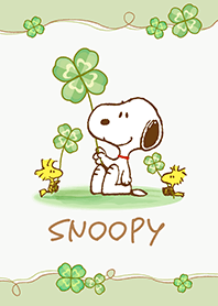 Snoopy ~召喚幸福的幸運草~