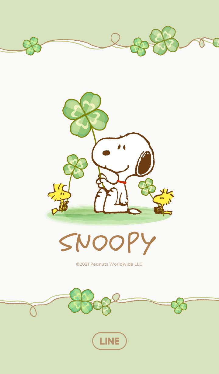 Snoopy ใบโคลเวอร์นำโชค
