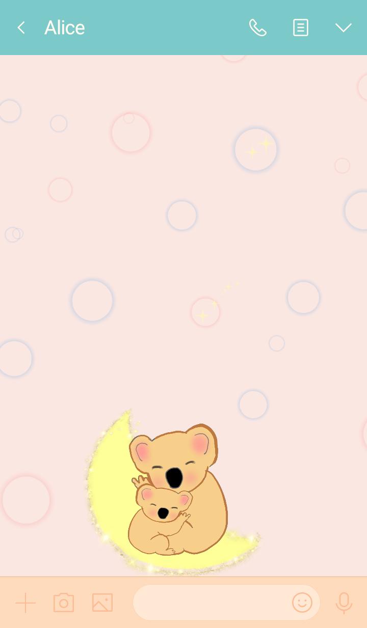 Hareruki of lovely koalas theme2