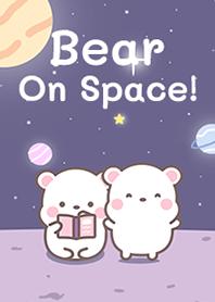 Bear On Space in Purple!
