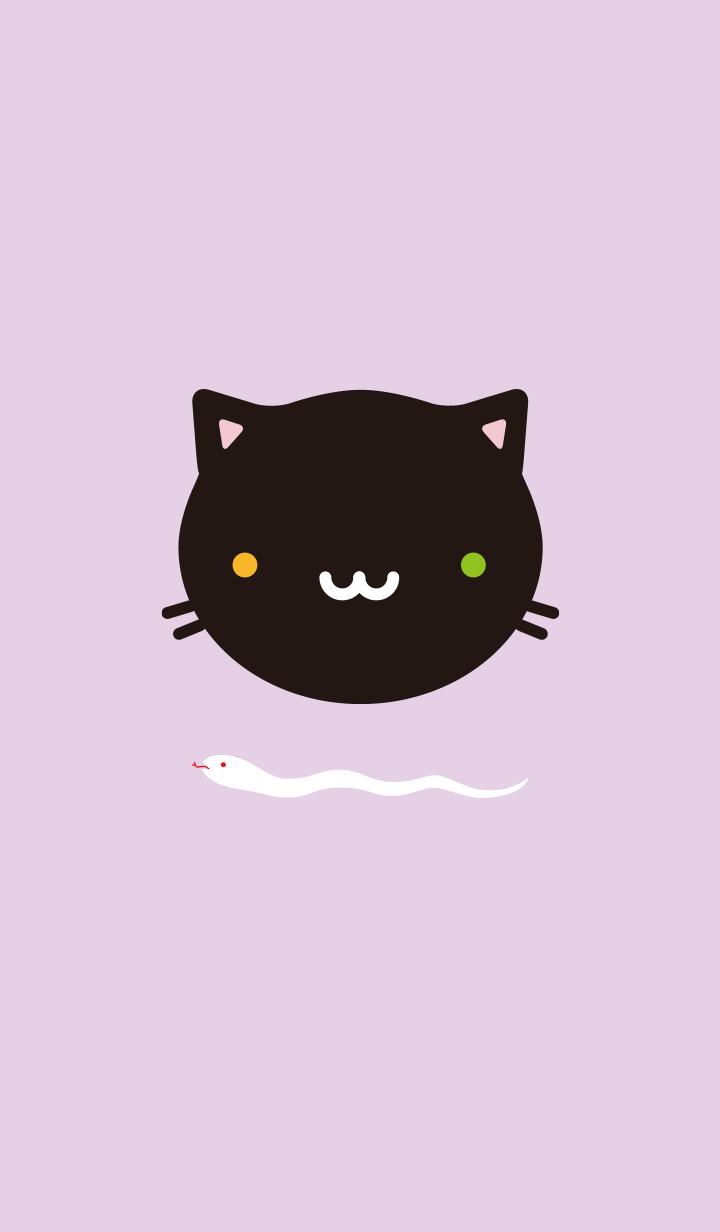 Oddeye black cat theme@Halloween2019