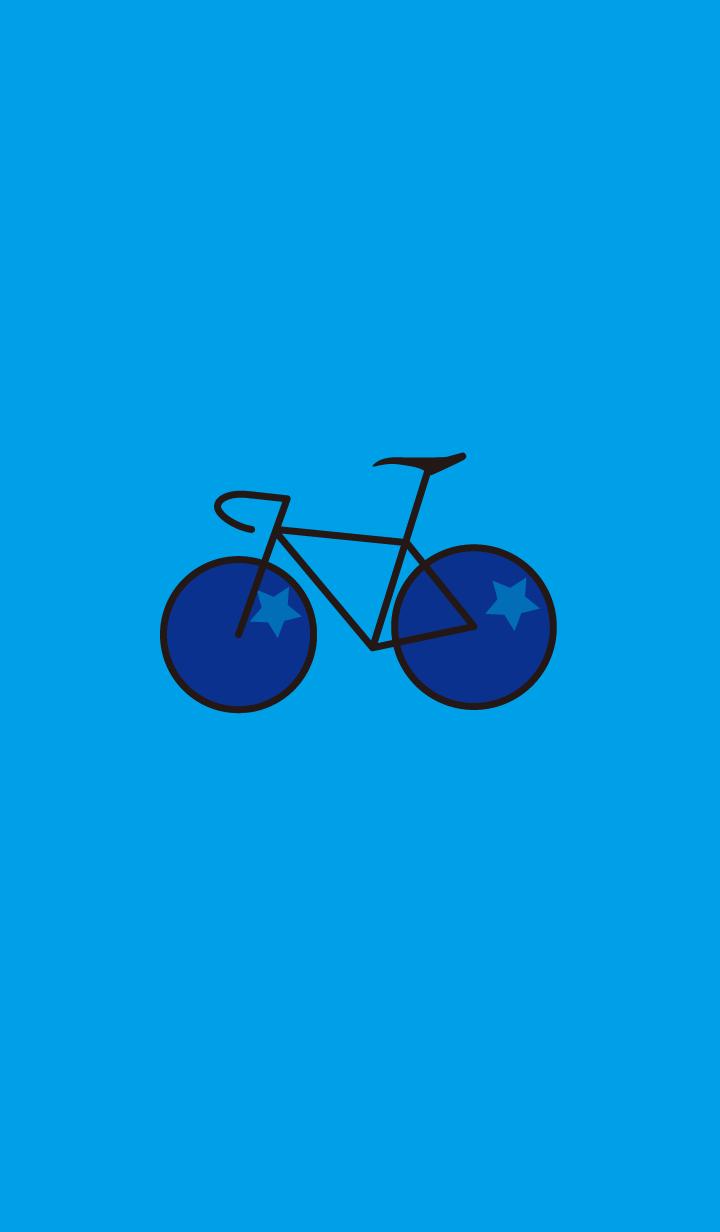 ธีมจักรยานสีน้ำเงิน(น้ำเงิน)