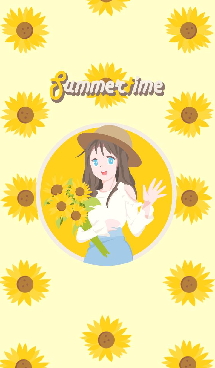 Little Girl (Summer)
