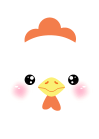 Face White Chicken Theme (jp)