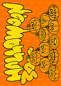 Halloween pumpkin orange B