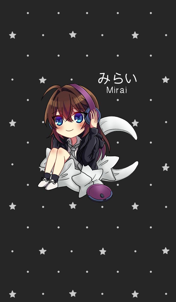Mirai Chibi Theme: Kuro