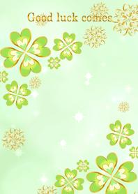 Happy green clover