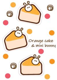 Orange cake & Bunny