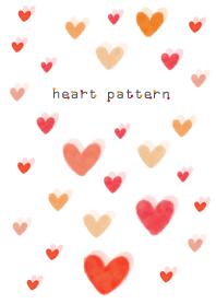 heart pattern13- watercolor- joc