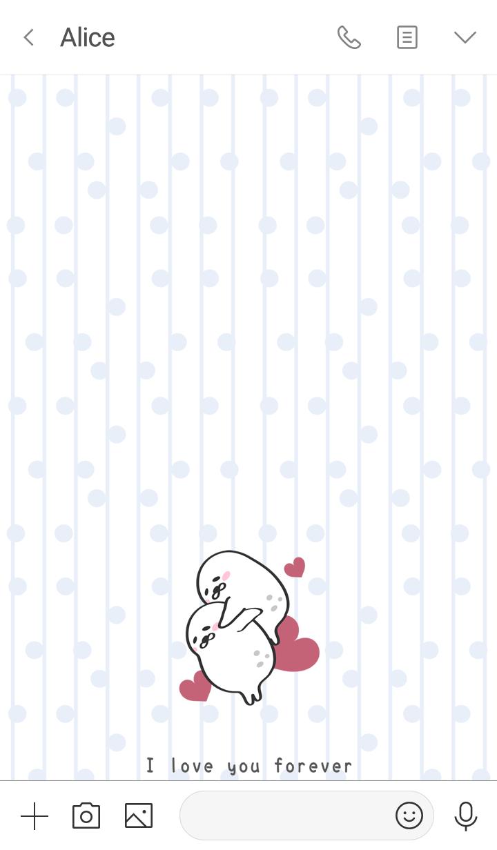 게으른 씰 유닛-발렌타인 데이2.0