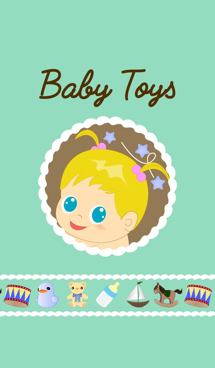 幼兒玩具(蓝绿色)