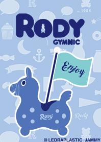 Cute blue Rody