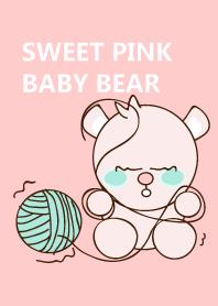 Sweet pink baby bear 47