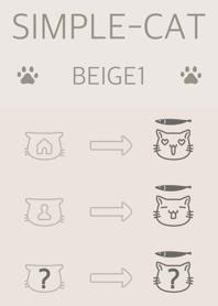 simple cat beige1