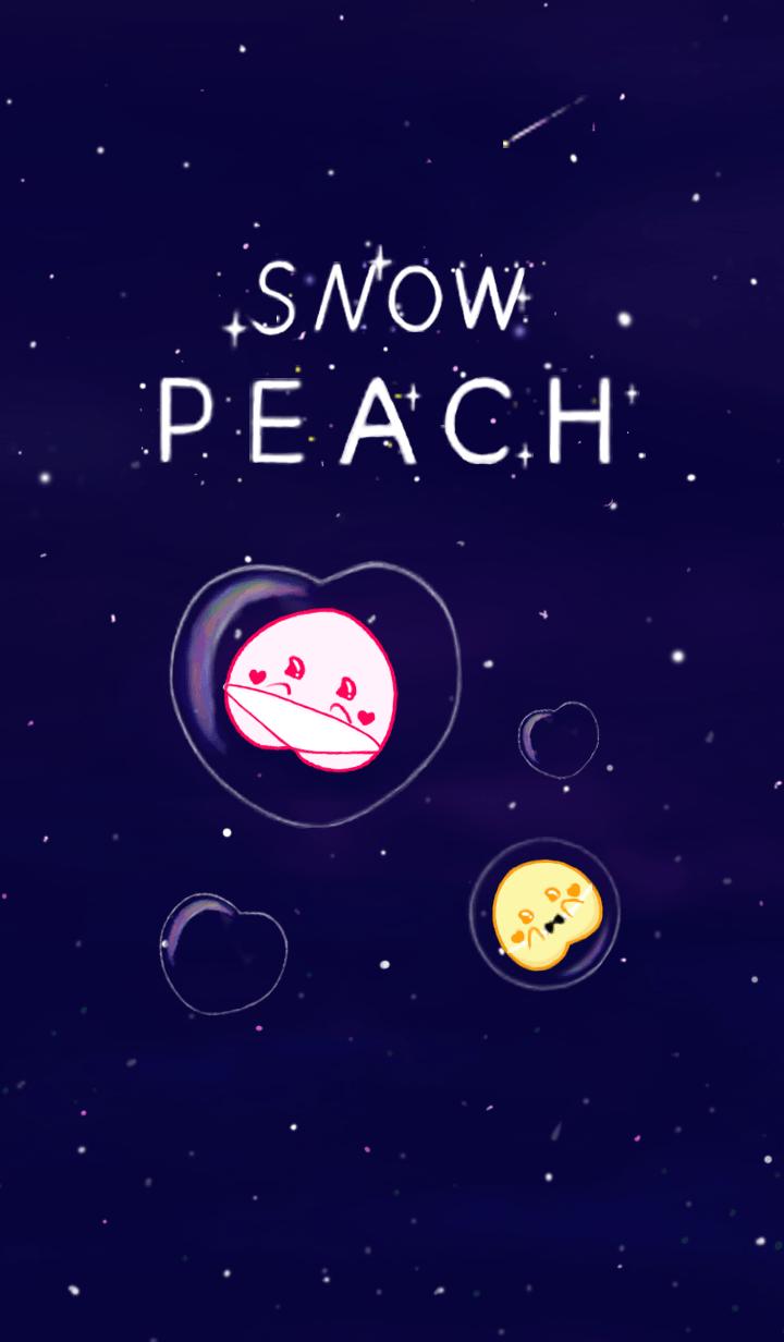 Snow peach