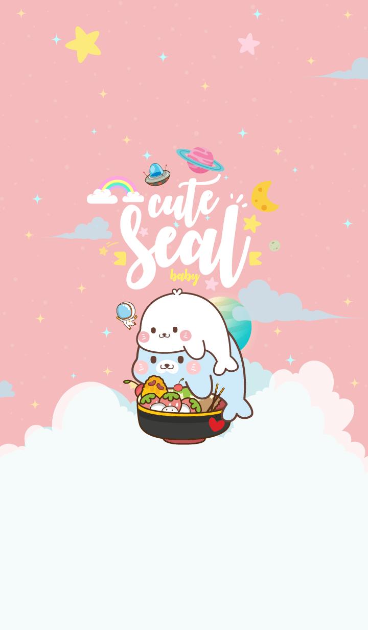 Seal Baby Galaxy Love