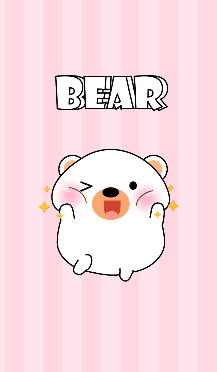 Oh! I'm Cute White Bear