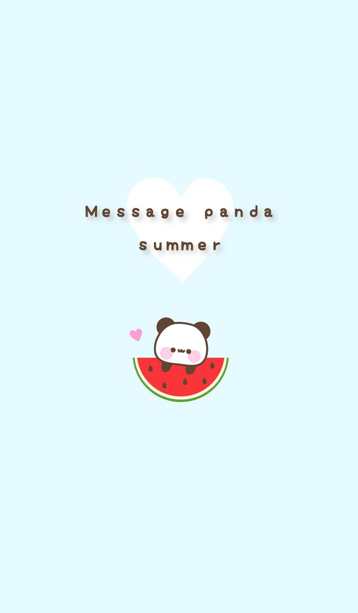 Message Panda summer #pop