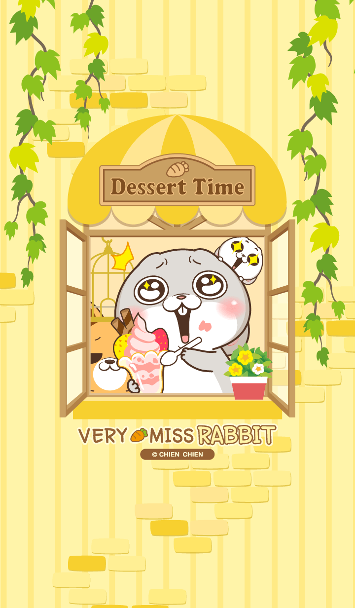 very miss rabbit-Dessert time