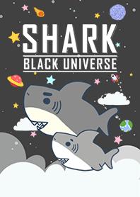 浩瀚宇宙 寶貝鯊魚出沒 黑色