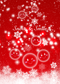 """- Snow & Smile """"Red"""" -"""