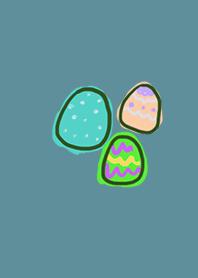 Fashionable Egg Blue Green